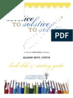 Solstice to Solstice to Solstice (Book Club & Reading Guide)