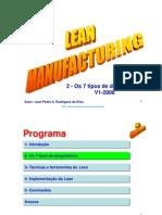 Lean Manufacturing  2-Os 7 Tipos de Desperdicio