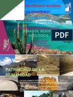 reservas ecologicas y patrimonio de la humanidad en méxico