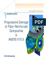 CAEA v15 ANSYS Composite Damage