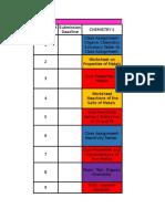 Assignment Monitoring Sheet
