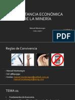 Tema 1 - Importancia Economica de La Mineria