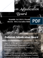 Pollution Adjudication Board