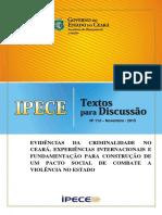 Dinâmica de Homicídios no Ceará 2000 a 2014