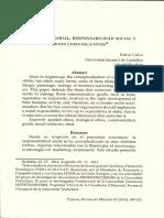Patrici Calvo. Ética Empresarial, Responsabilidad Social y Bienes Comunicativos