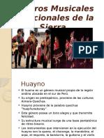 Géneros Musicales Tradicionales de La Sierra