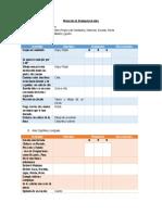 Protocolo de Evaluación 6 Años
