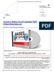 Acceso a Datos Con El Lenguaje SQL (VideoTutoriales