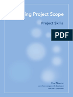 Fme Project Scope