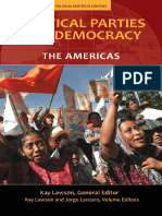 (Political Parties in Context) Kay Lawson, Jorge Lanzaro-Political Parties and Democracy_ Volume I_ the Americas-Praeger (2010)