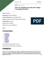 Sentencia Responsabilidad Extracontractual Chile