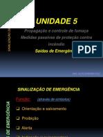 Aula 7 - Unidade 5 (5.3 -Sinalização) 2015
