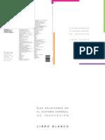 COTEC - Las relaciones en el sistema español de innovación. Libro blanco 2007