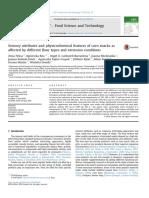 Atributos Sensoriales y Características Físico-químicas de Las Meriendas de Maíz Afectadas Por Diferentes Tipos de Harina y Condiciones de Extrusión