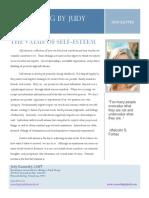 The Value of Self-Esteem