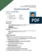 Curriculum Arq. Agustin Barrios