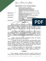 SUPERIOR TRIBUNAL de JUSTIÇA. Recurso Ordinário Em Mandado de Segurança n.º 14.168 – SP (20010192490-4), Rel. Min. Nancy Andrighipdf