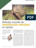 45. M Todos Actuales de Identificaci n en Reptiles27