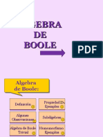 Algebras de Boole
