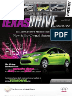 Texas Drive Magazine July26-Aug8,2010