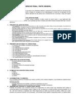 Derecho Penal General- Cuestionario