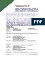 Comisión Central CAS 01