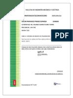 Normas de Las Fibras Ópticas Mono Modo G652 FINAL