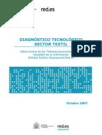Diagnóstico tecnológico - Sector textil 2007