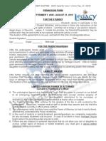 Permission Form 09-10