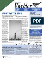 September 2008 Warbler Newsletter Portland Audubon Society