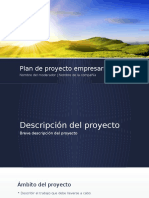 Plan de Proyecto Empresarial Modelo