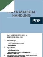 6 Biaya Material Handling MEF