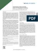 guias hepatopatia alcholica