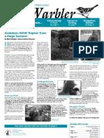 July-August 2009 Warbler Newsletter Portland Audubon Society