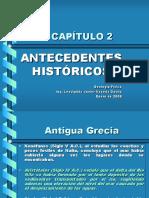 CAPÍTULO 2 Antecedentes Históricos
