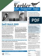 September 2009 Warbler Newsletter Portland Audubon Society