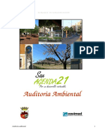 Auditoria Ambiental - Agenda Local 21
