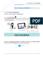 Como Descargar e Instalar GeoGebra 2 1