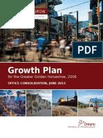 2013 06 10 Growth Plan for the GGH En