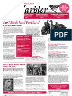 June 2010 Warbler Newsletter Portland Audubon Society