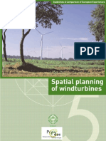 EÓLICA - Spatial planning of windturbines