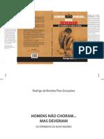 Livro Grátis -Homens Não Choram... Mas Deveriam- Em PDF