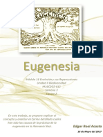 Actividad Integradora Eugenesia M16S3
