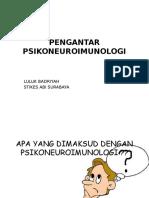 PENGANTAR PSIKONEUROIMUNOLOGI