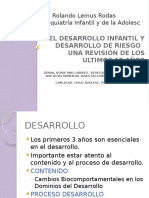 El Desarrollo Infantil, y Riesgos en El Clase Peque (2)