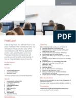 FortiGate I Course Description-Online V2