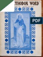 Orthodox Word 1969 Nov Dec