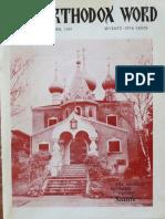 Orthodox Word 1969 Sep Oct
