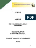 Reformas e Innovaciones Educativas