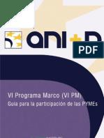 Guía de la participación de las PYMEs en el VI Programa Marco